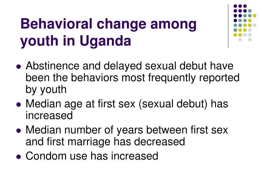 Behavioral change among youth in Uganda