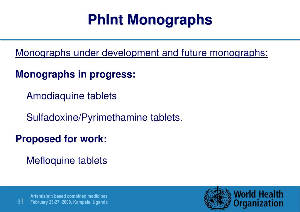 PhInt Monographs