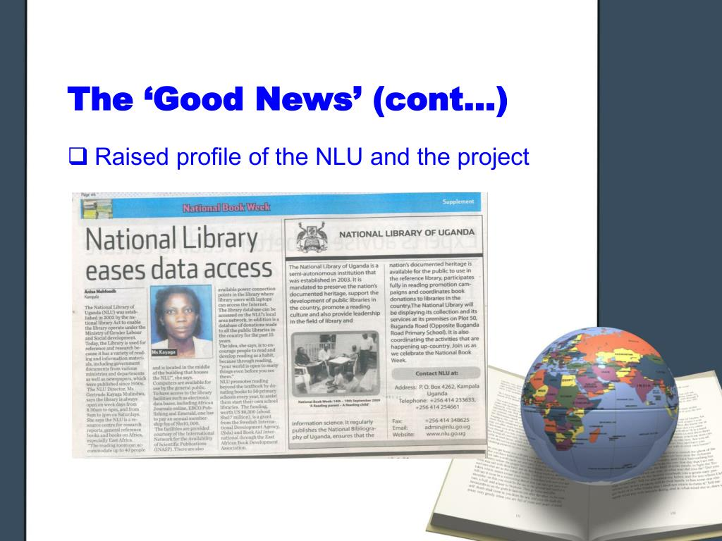 The 'Good News' (cont…)