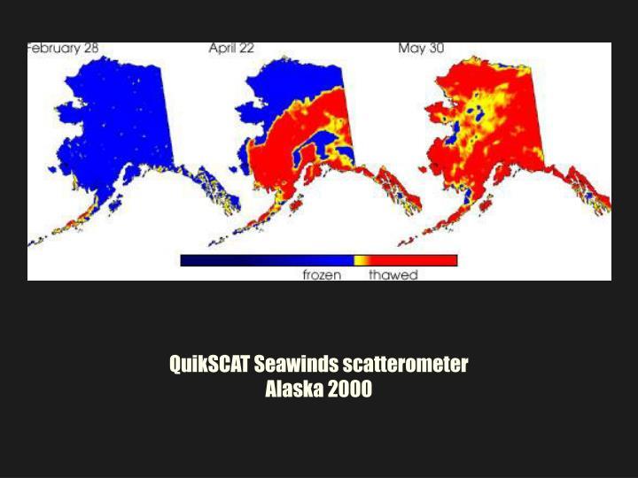 QuikSCAT Seawinds scatterometer