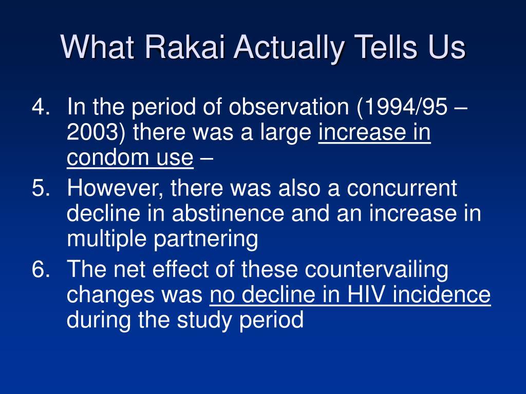 What Rakai Actually Tells Us