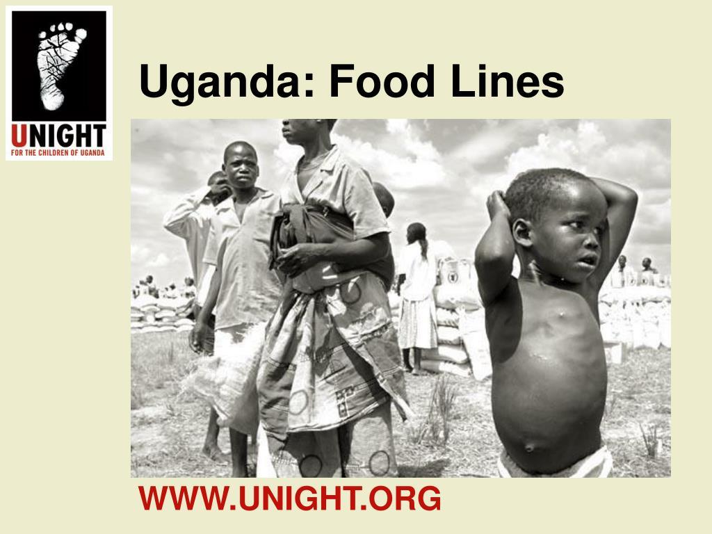 Uganda: Food Lines