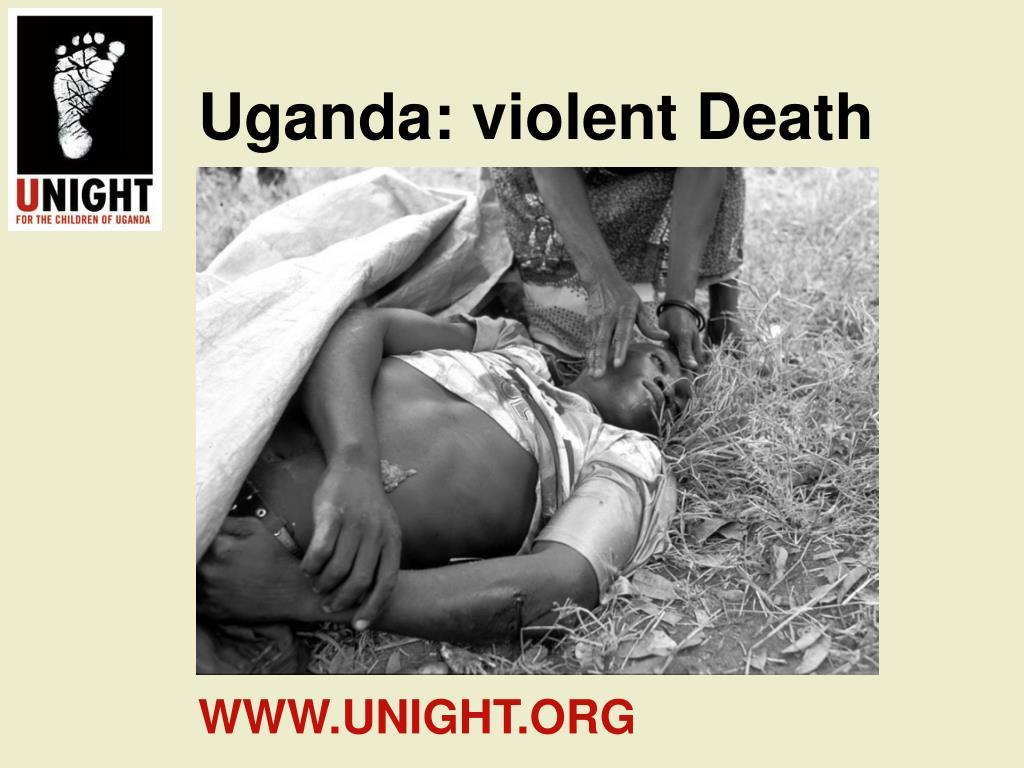 Uganda: violent Death