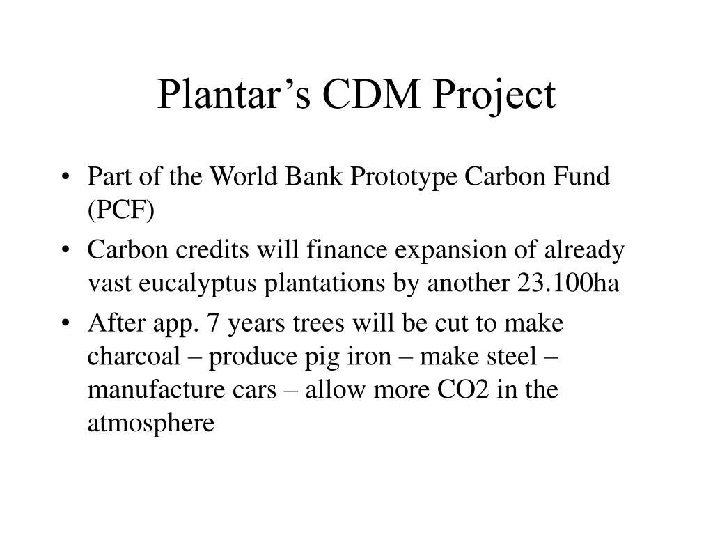Plantar's CDM Project