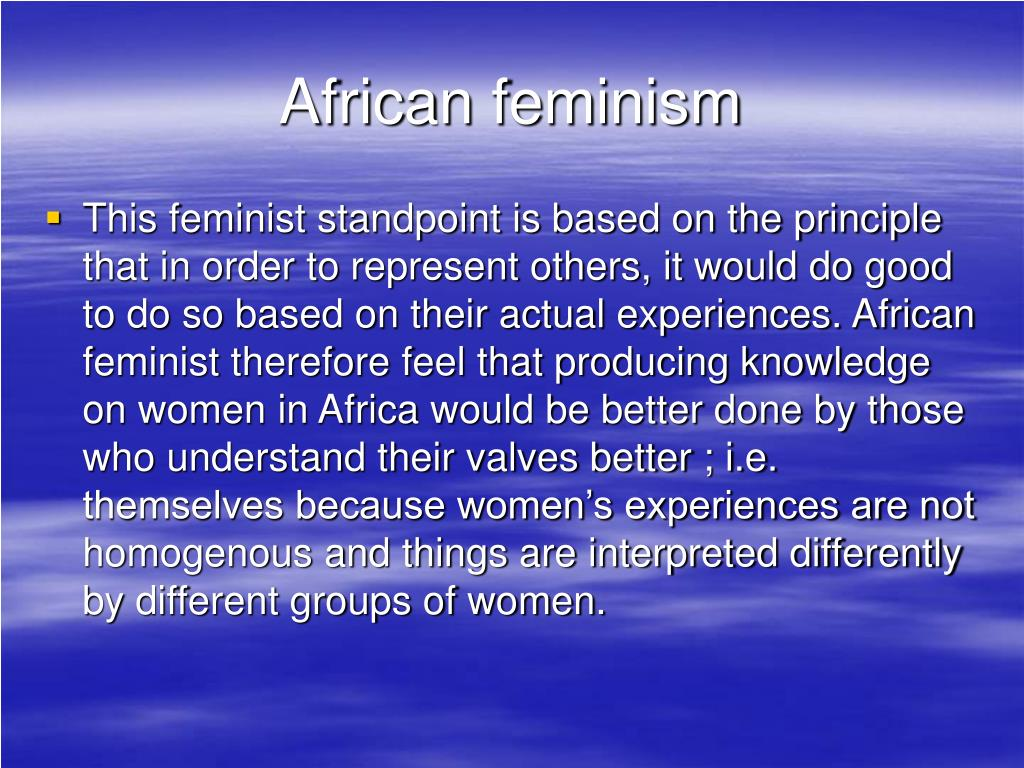 African feminism