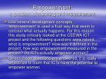 empowerment a problem of meaning and measurement