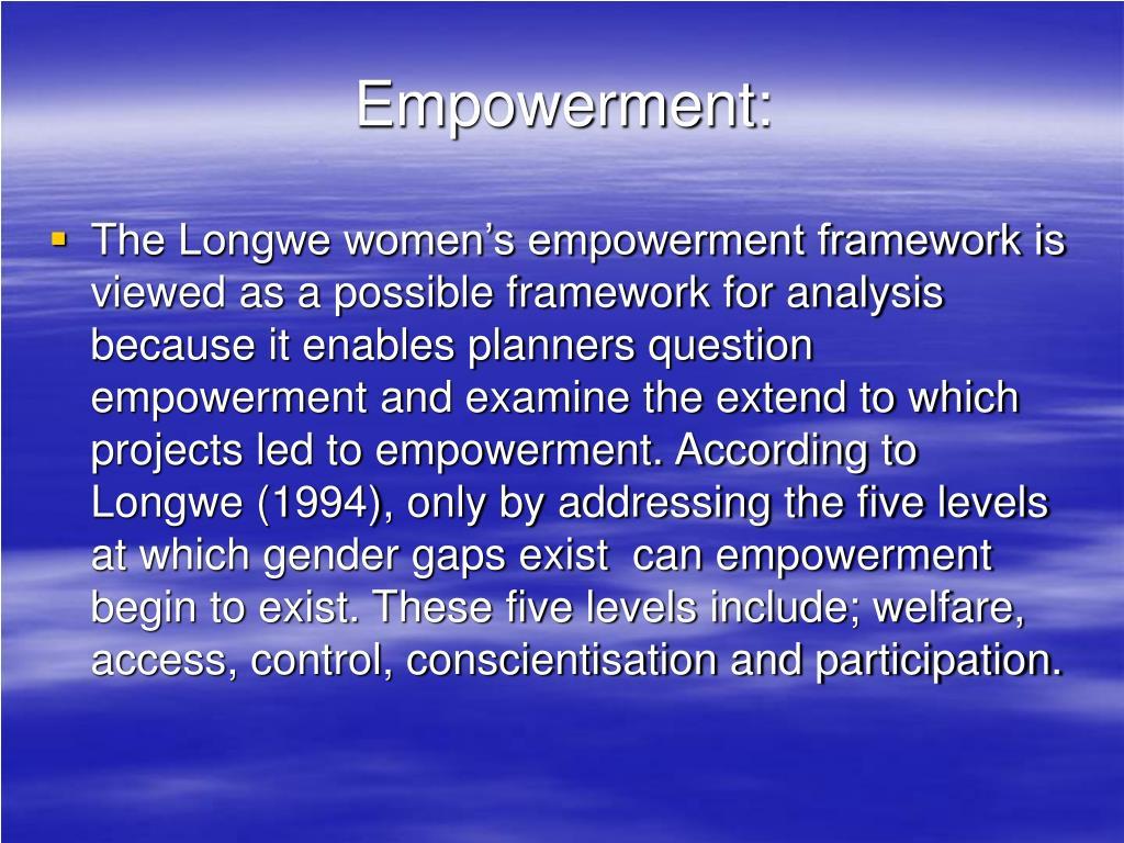 Empowerment: