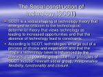 the social construction of technology scot