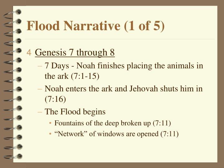 Flood Narrative (1 of 5)