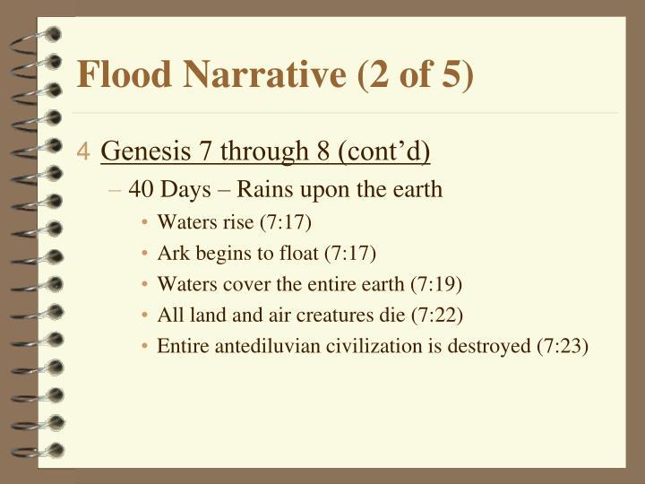 Flood Narrative (2 of 5)