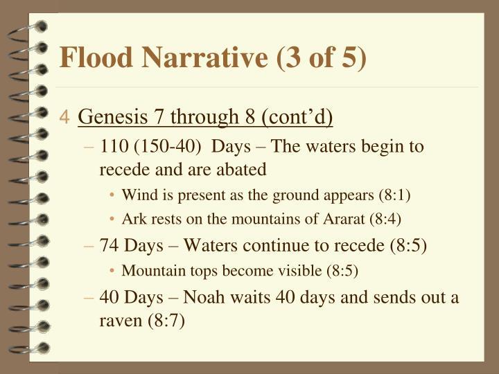 Flood Narrative (3 of 5)
