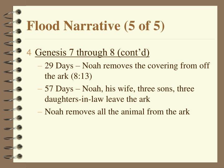Flood Narrative (5 of 5)