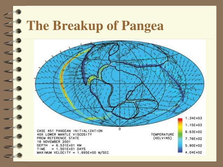 The Breakup of Pangea