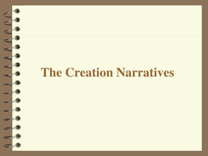 The Creation Narratives