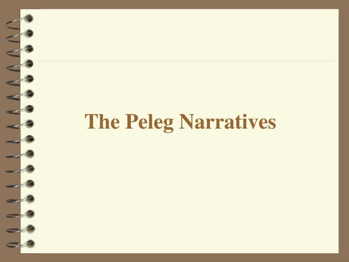 The Peleg Narratives