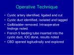 operative technique1