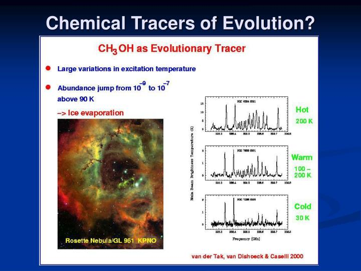 Chemical Tracers of Evolution?
