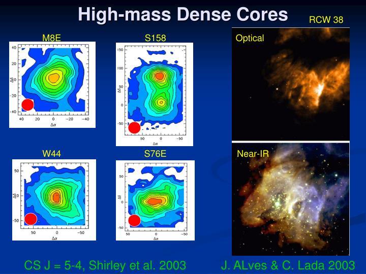 High-mass Dense Cores