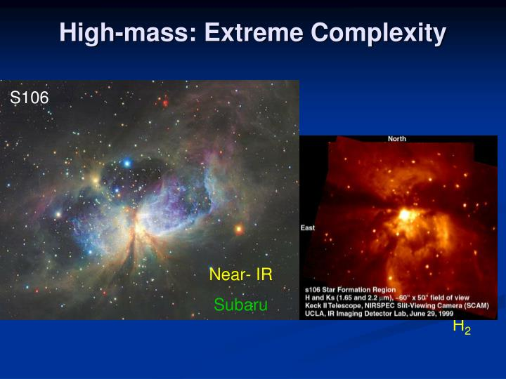 High-mass: Extreme Complexity