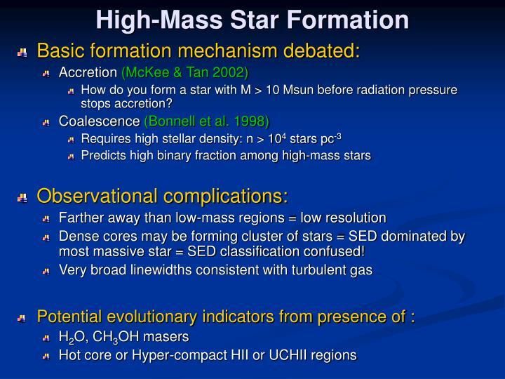 Basic formation mechanism debated: