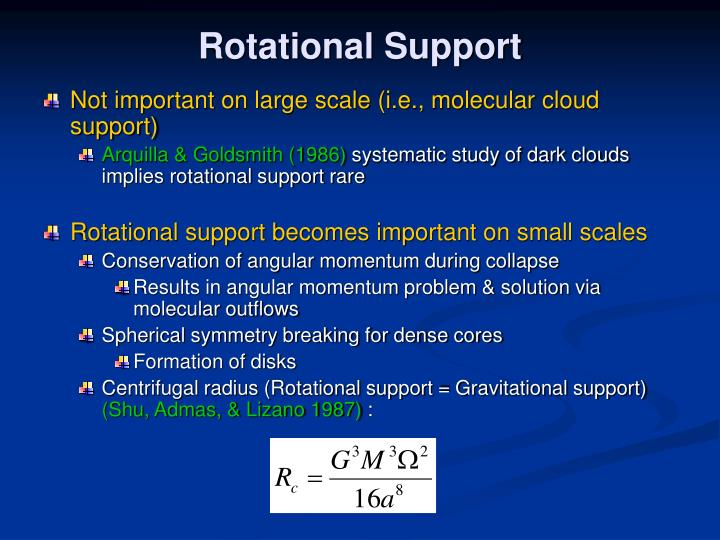 Rotational Support