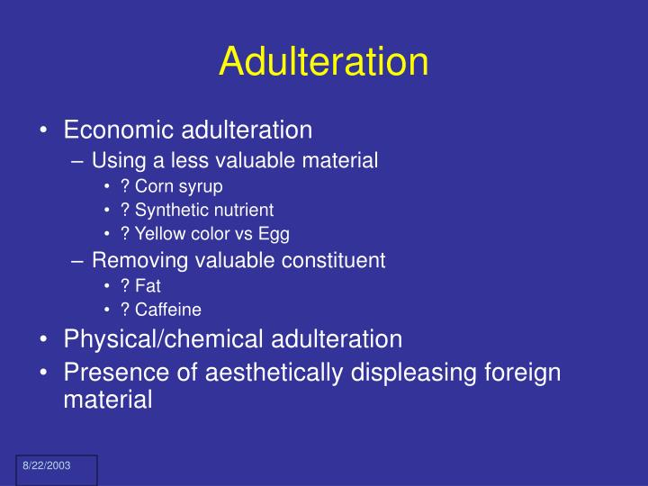 Adulteration3