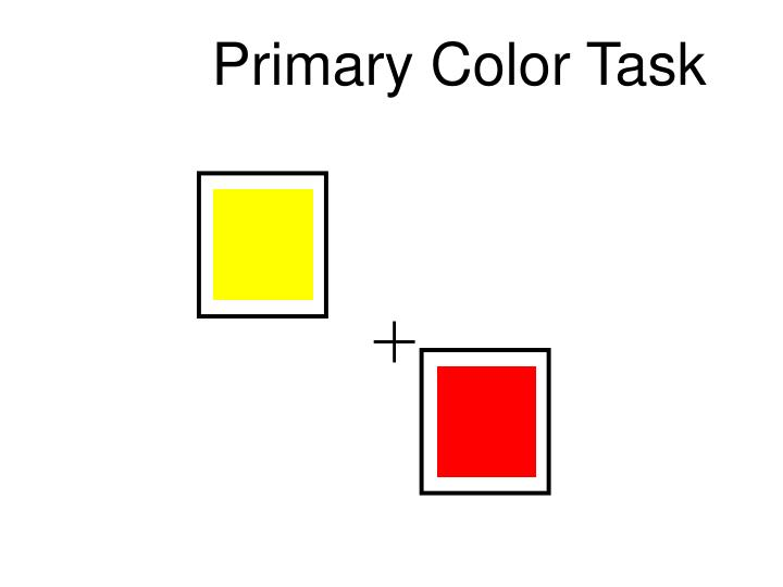 Primary Color Task