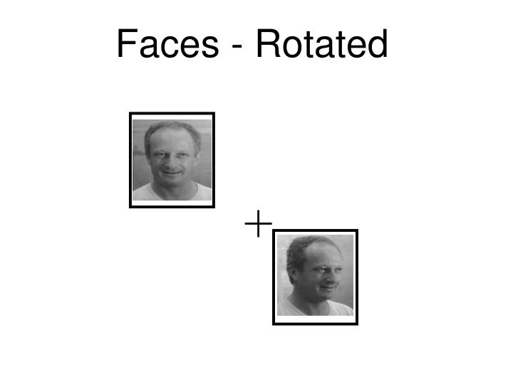 Faces - Rotated