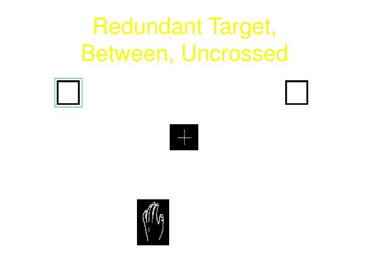 Redundant Target,