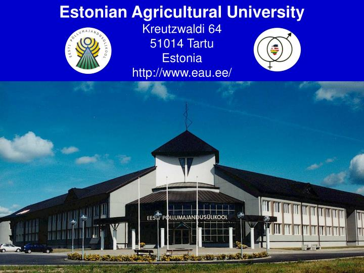 Estonian Agricultural University