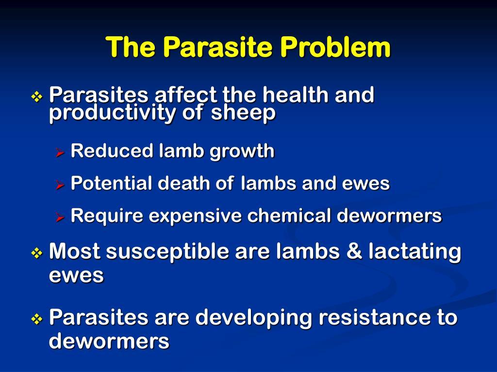 The Parasite Problem