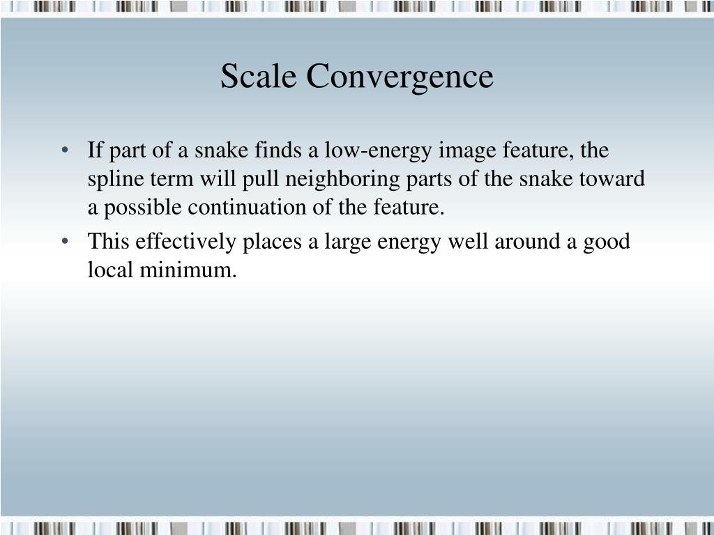 Scale Convergence