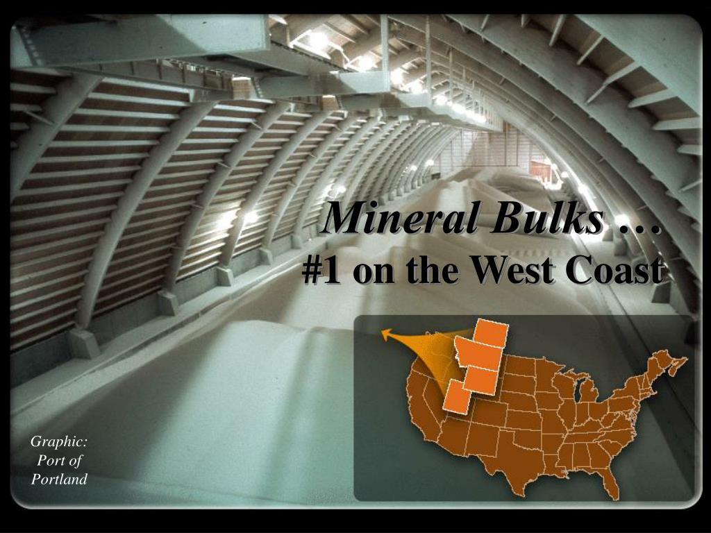 Mineral Bulks …