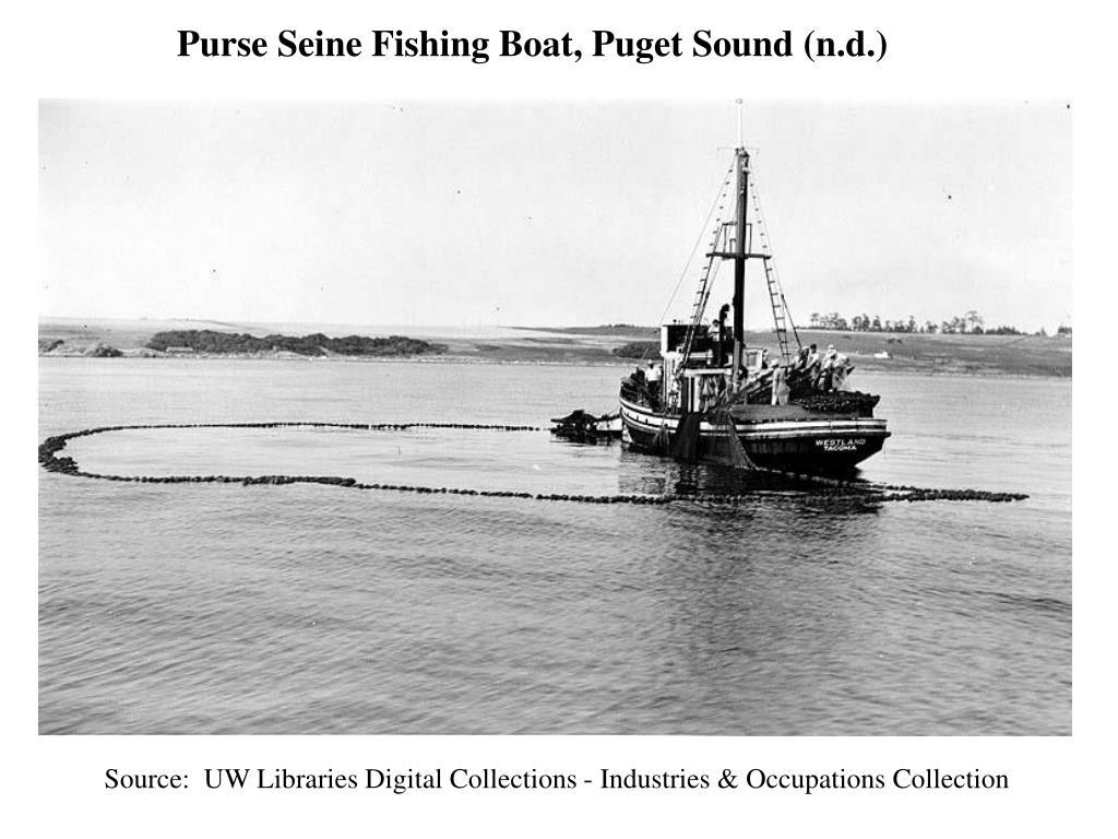 Purse Seine Fishing Boat, Puget Sound (n.d.)