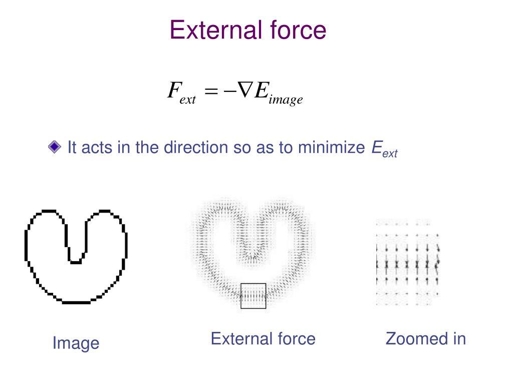 External force