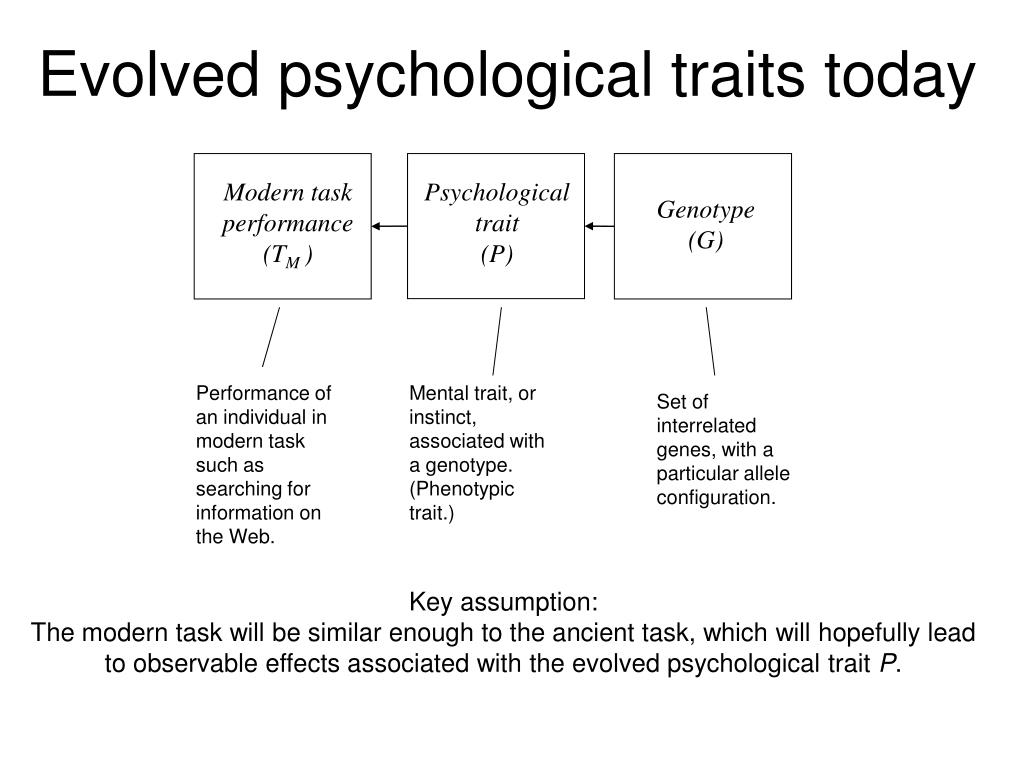 Evolved psychological traits today