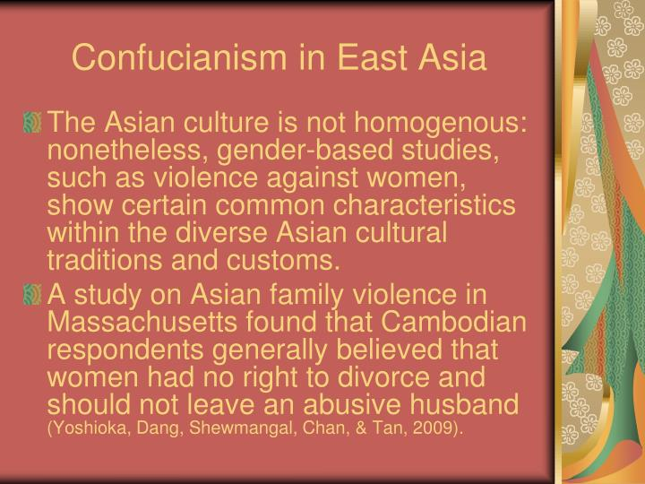 Confucianism in East Asia