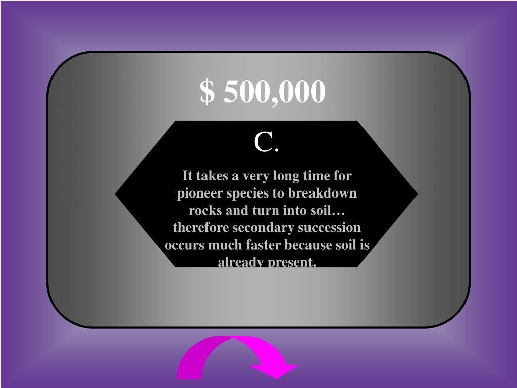 $ 500,000