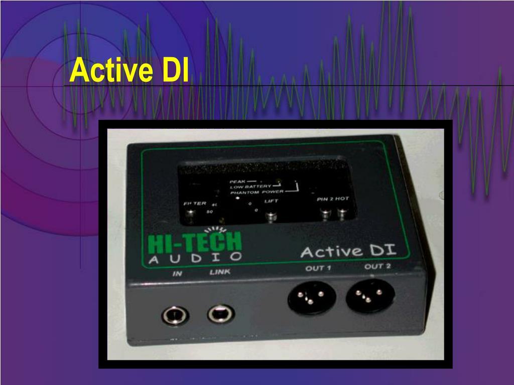 Active DI