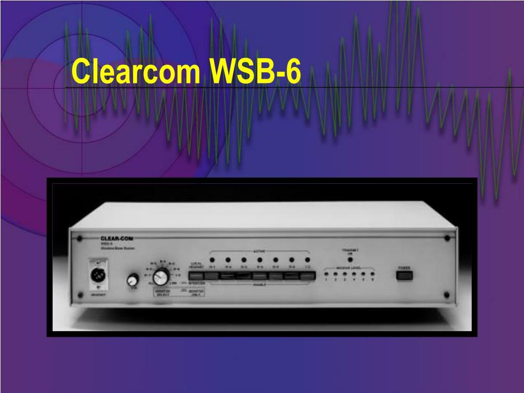 Clearcom WSB-6