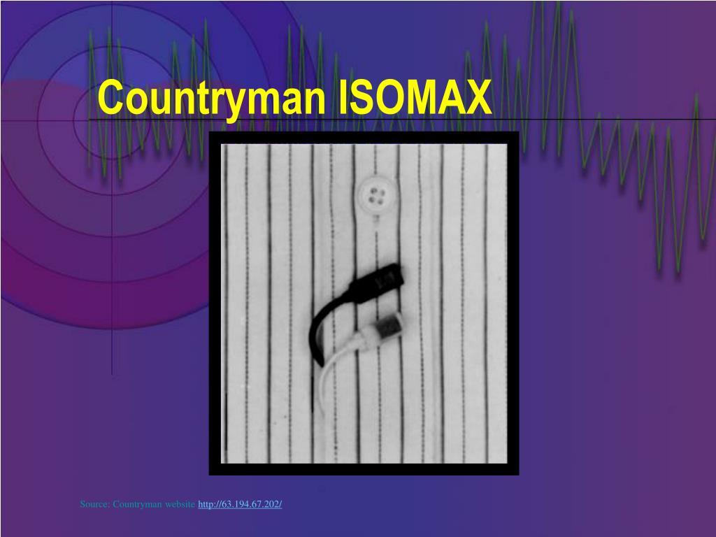 Countryman ISOMAX