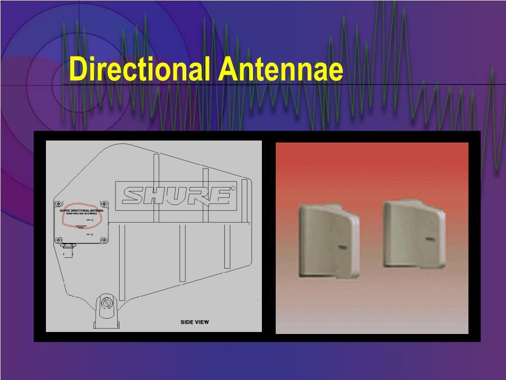 Directional Antennae