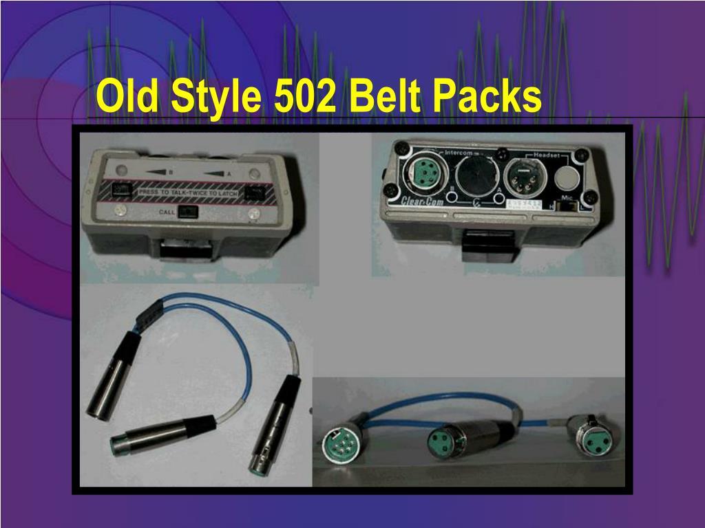 Old Style 502 Belt Packs