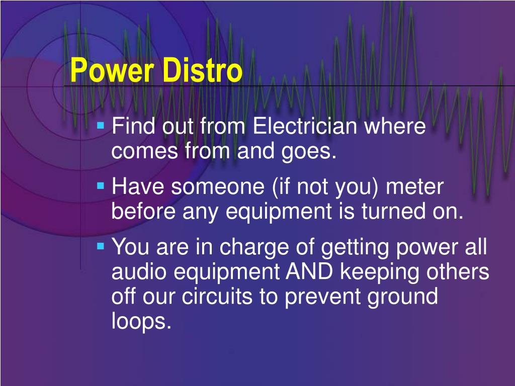 Power Distro