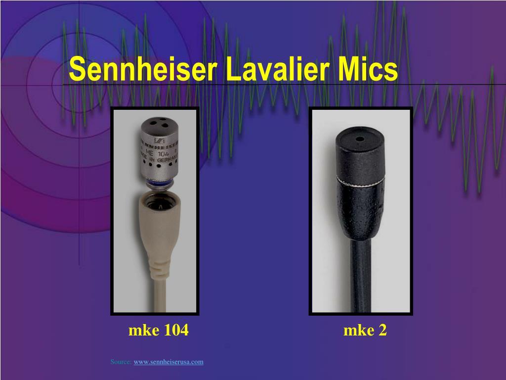 Sennheiser Lavalier Mics
