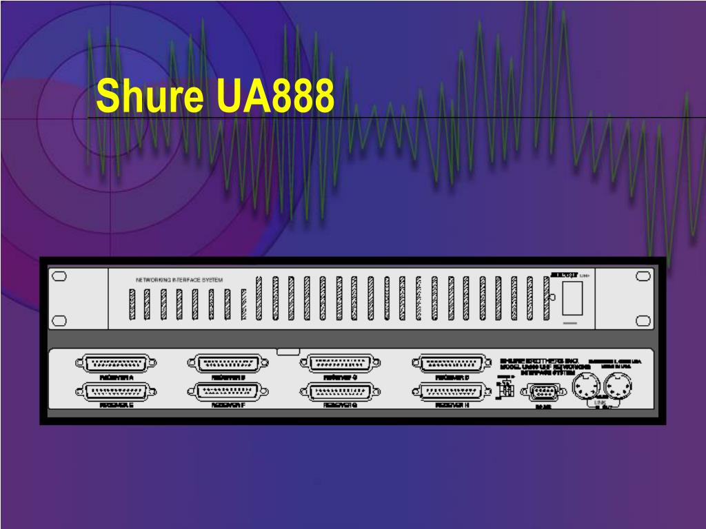 Shure UA888