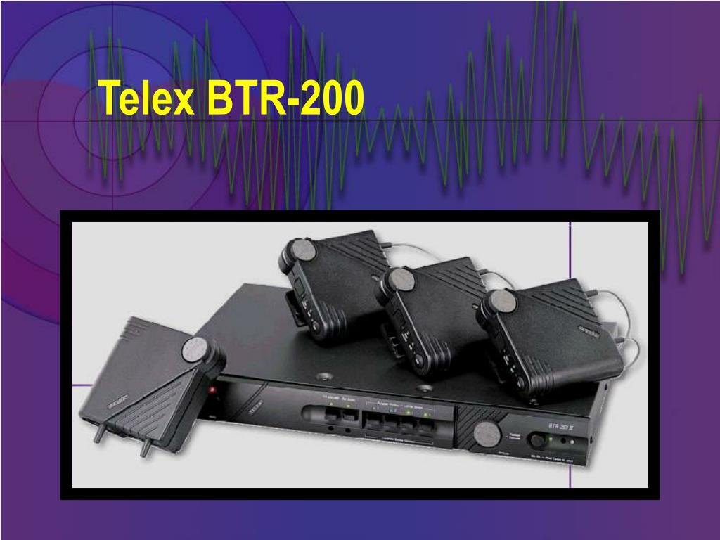 Telex BTR-200