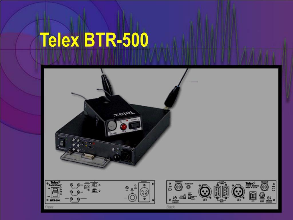 Telex BTR-500
