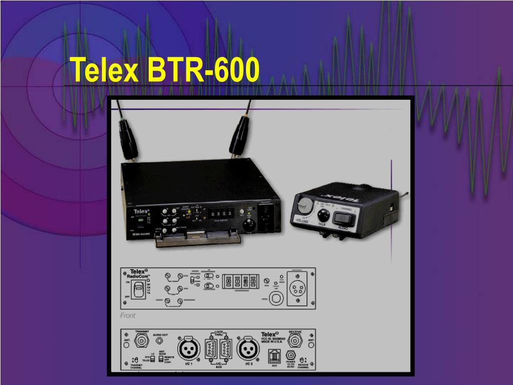 Telex BTR-600