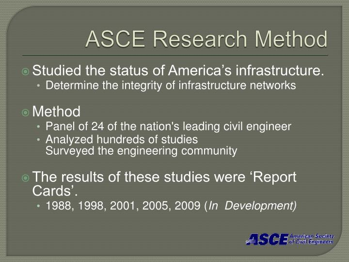ASCE Research Method